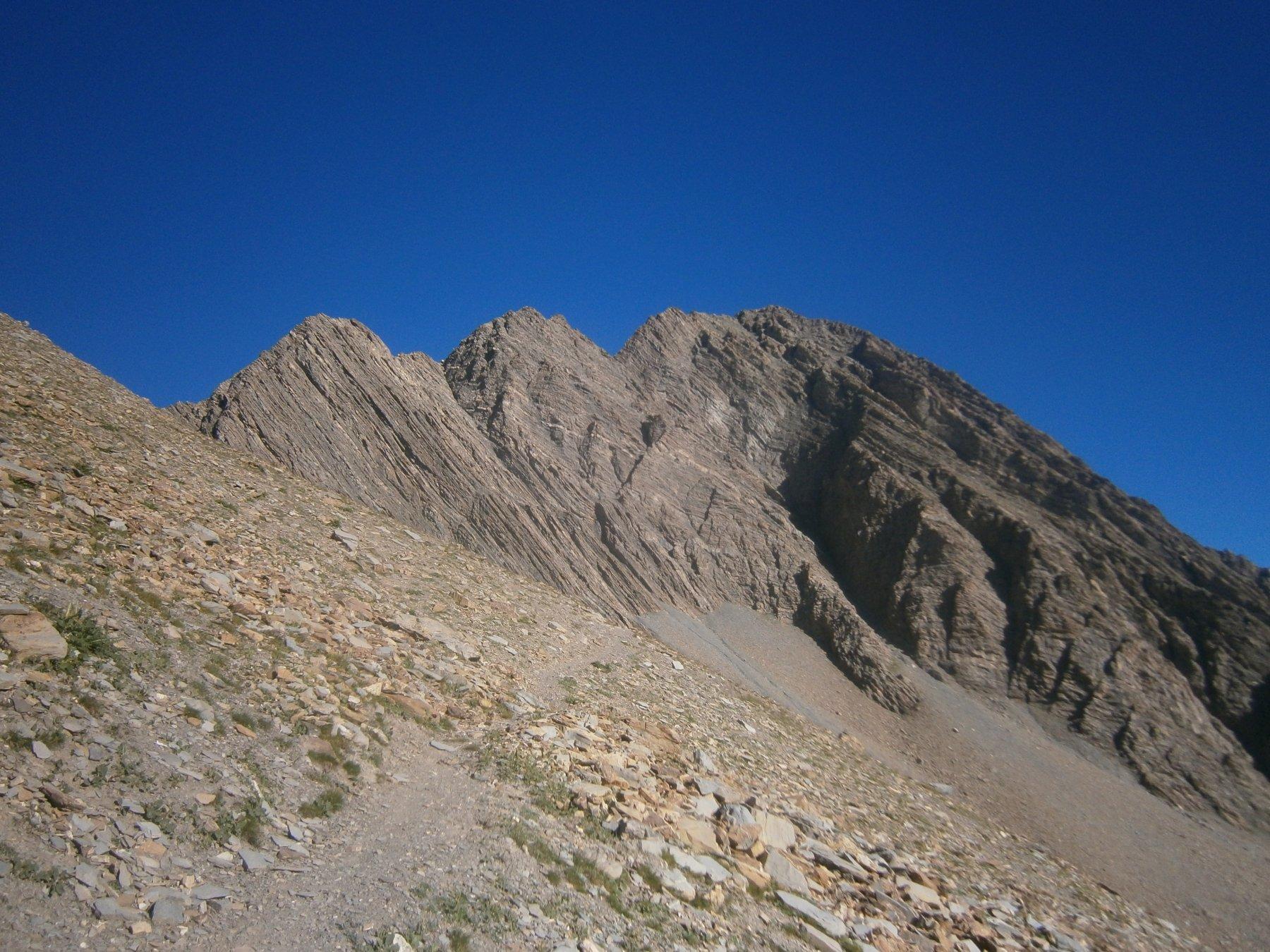 La cima dal vallone Berard