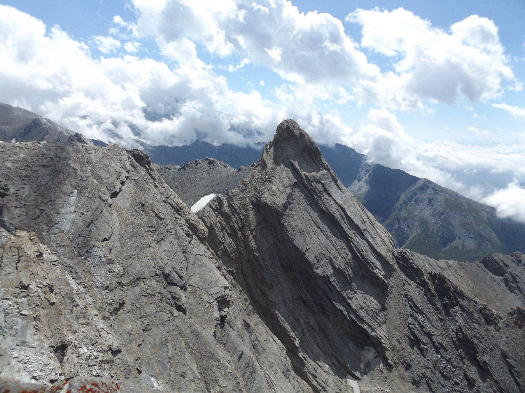 Pic d'Asti dalla cima