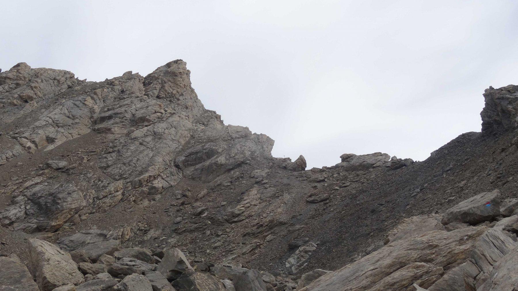 Passo Terre Nere e vetta