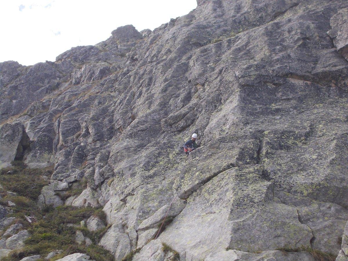 Frisson (Monte) Spigolo Nord 2019-08-14