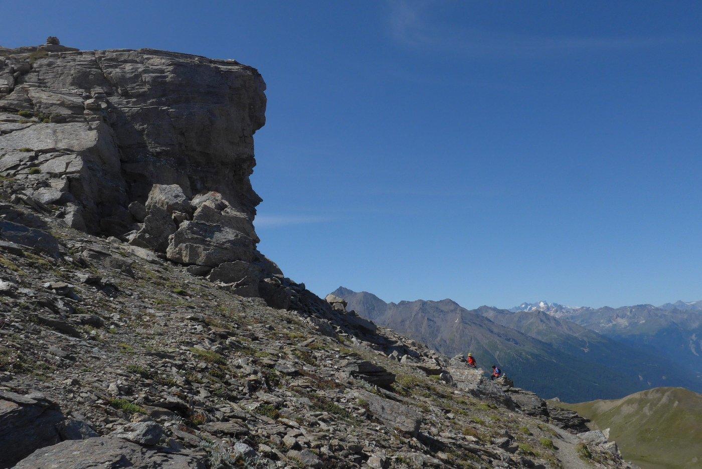 Profilo di roccia