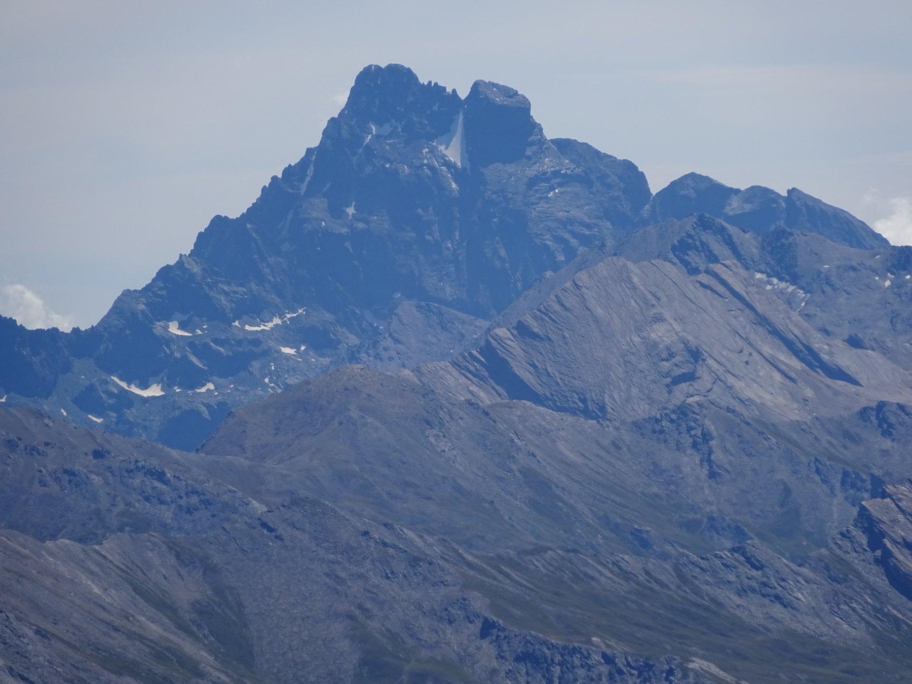 Monviso dalla vetta del Pic de Rochebrune
