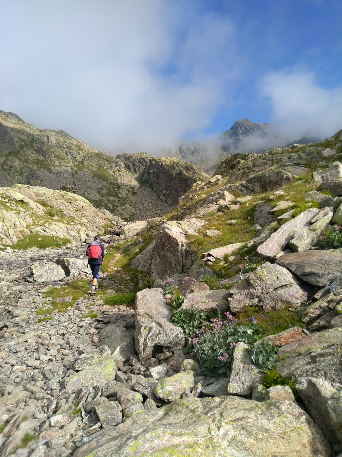 Corborant (Cima di) da San Bernolfo per il Buco della Marmotta 2019-08-16