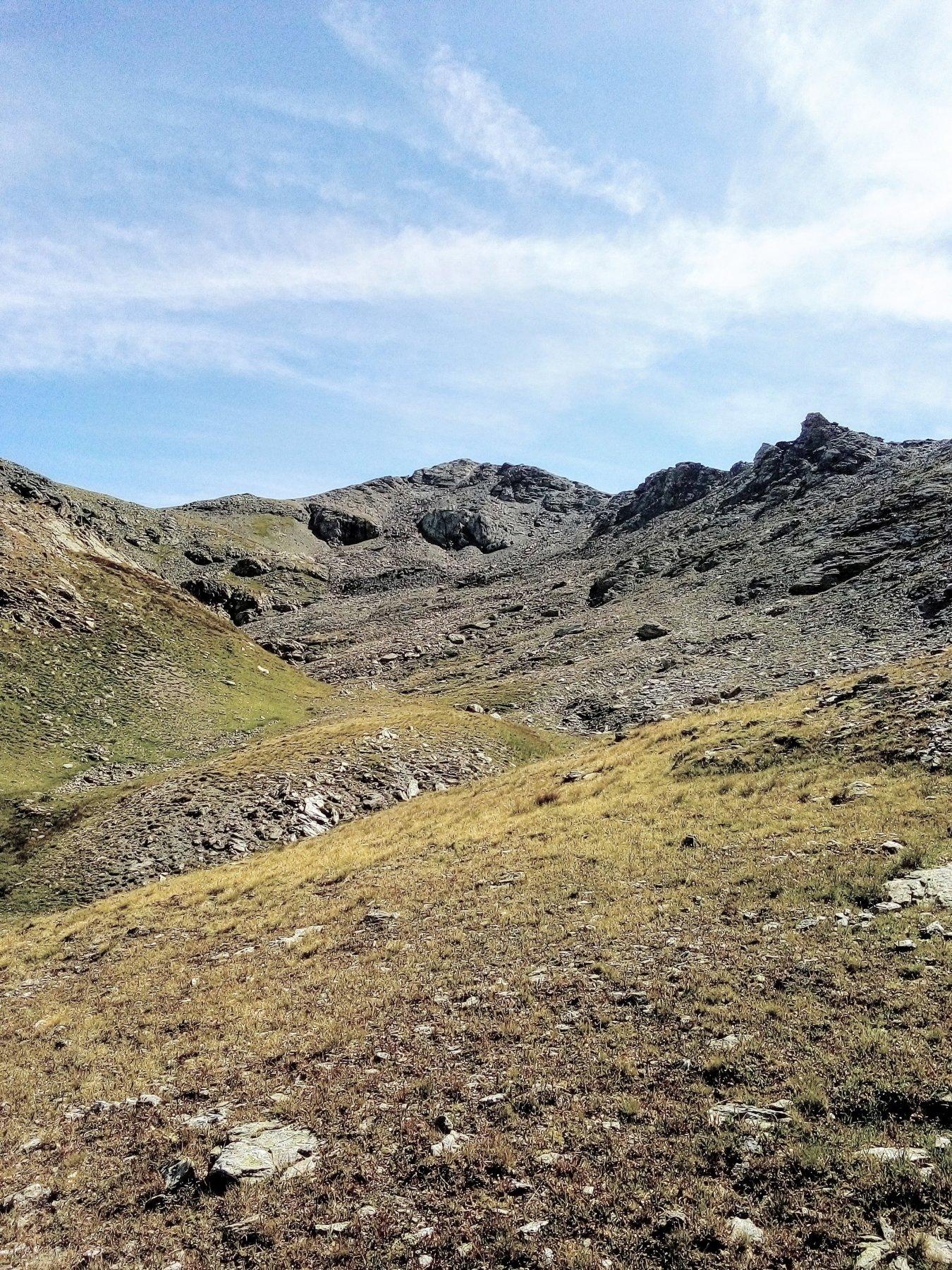 Gran Mioul in fondo al vallone