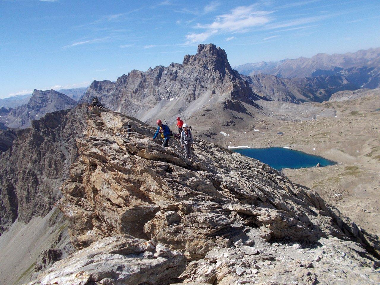 Homme (Tète de l') e Tete de la Frema da Grange Collet, anello per il Passo Terre Nere e Colle Infernetto 2019-08-16
