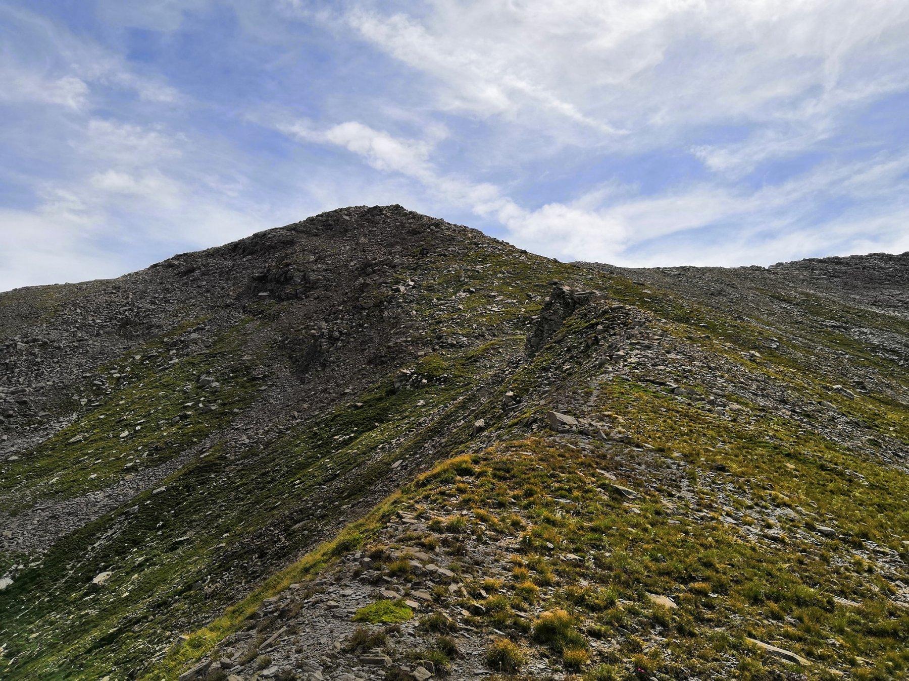 Cresta per la cima