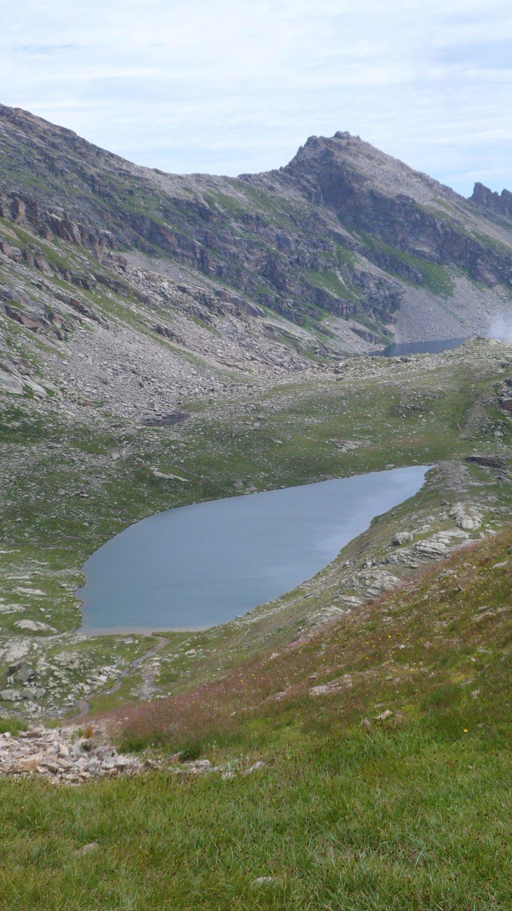 I laghi dal Colle della Terra Fertà