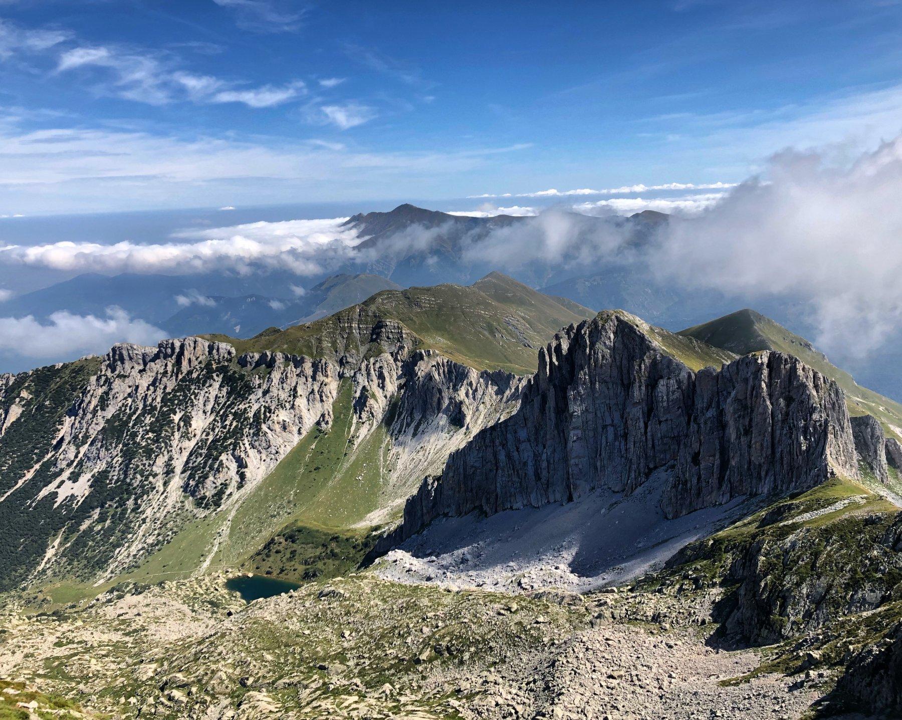 Monte Chiamossero, parete ovest
