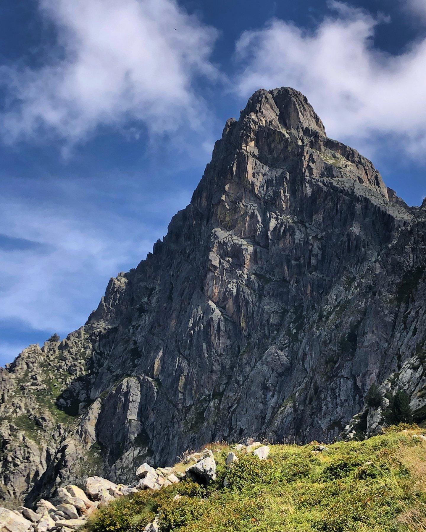 Monte Frissòn, parete nord