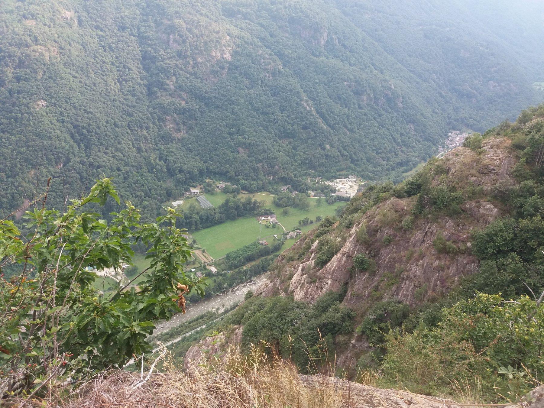 Vista a valle
