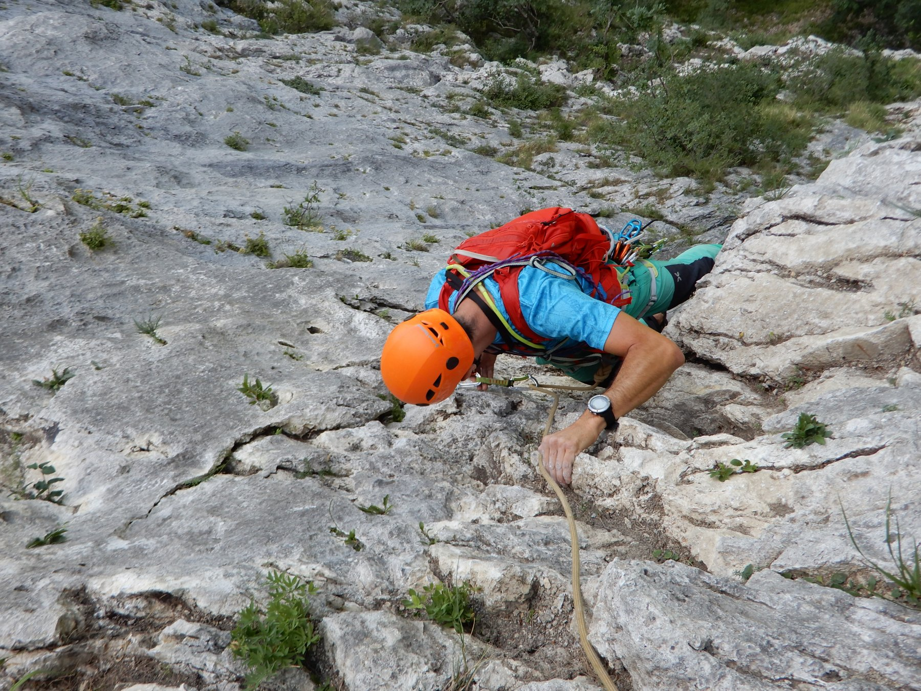 Procinto (Monte) Diedro delle Sorprese 2019-08-18