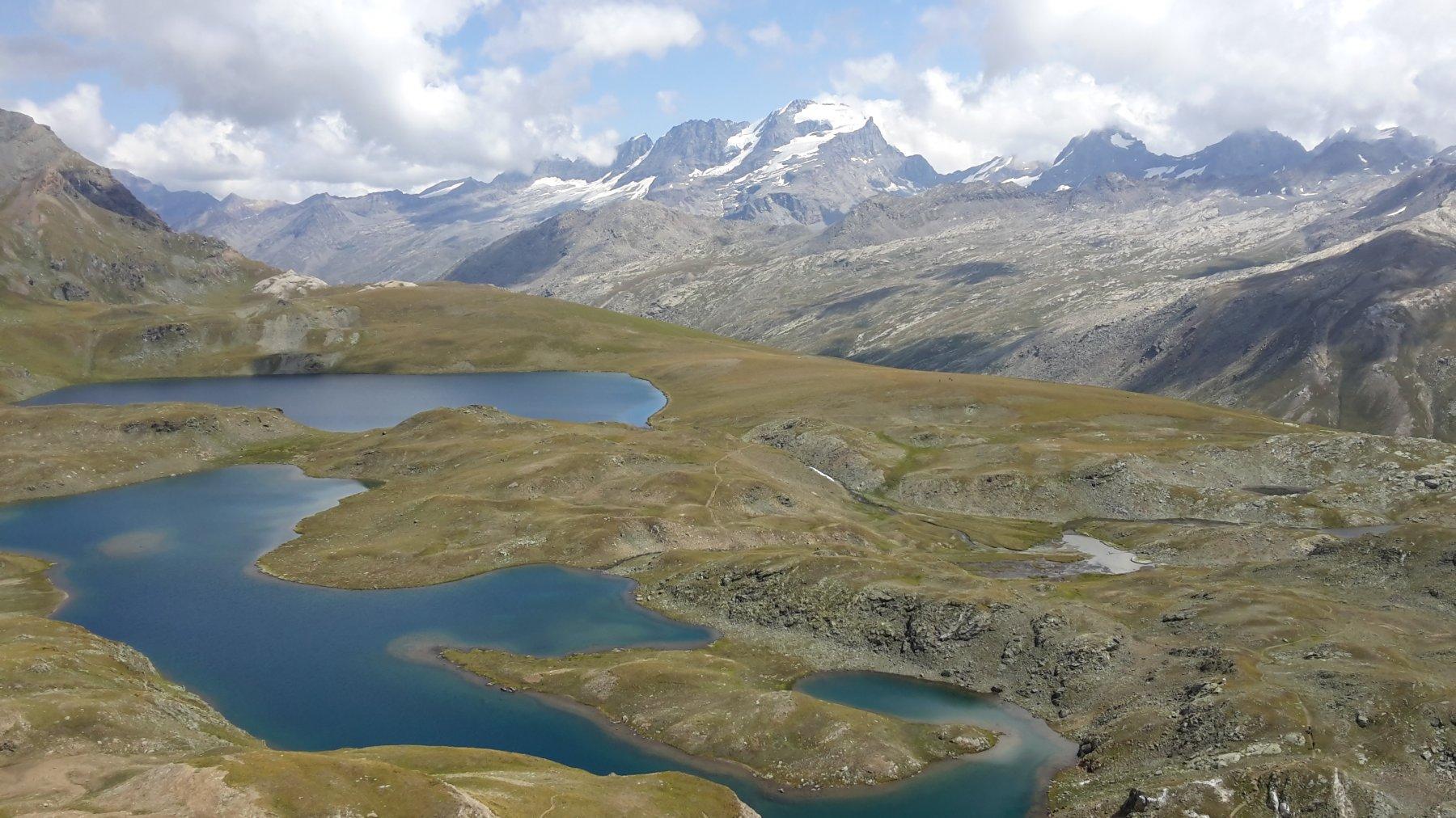 laghi Leità, Rosset e GranPa
