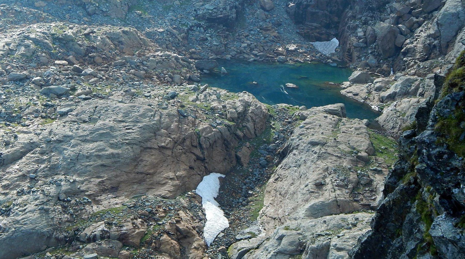 Uno dei laghi Bianchi