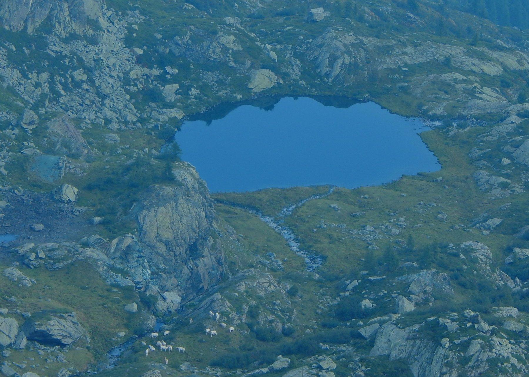 Lago Casias dal colle Vallonetto