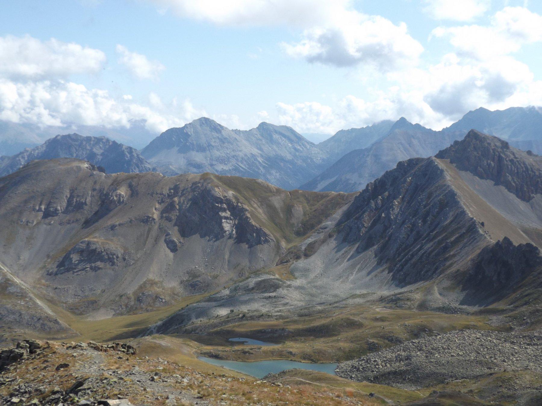 Laghi d'Oule dalla cima