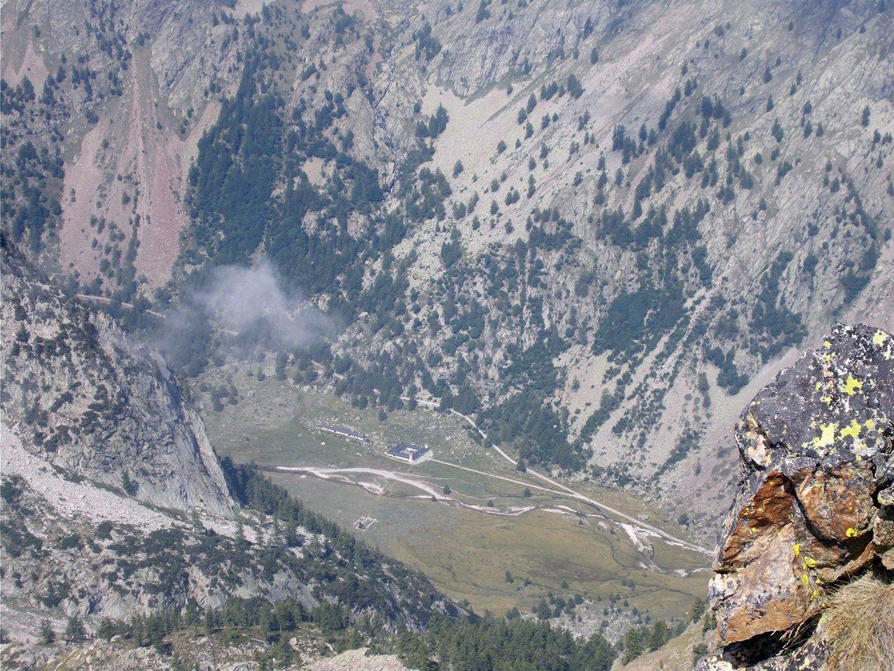 il pian del Valasco dalla cima