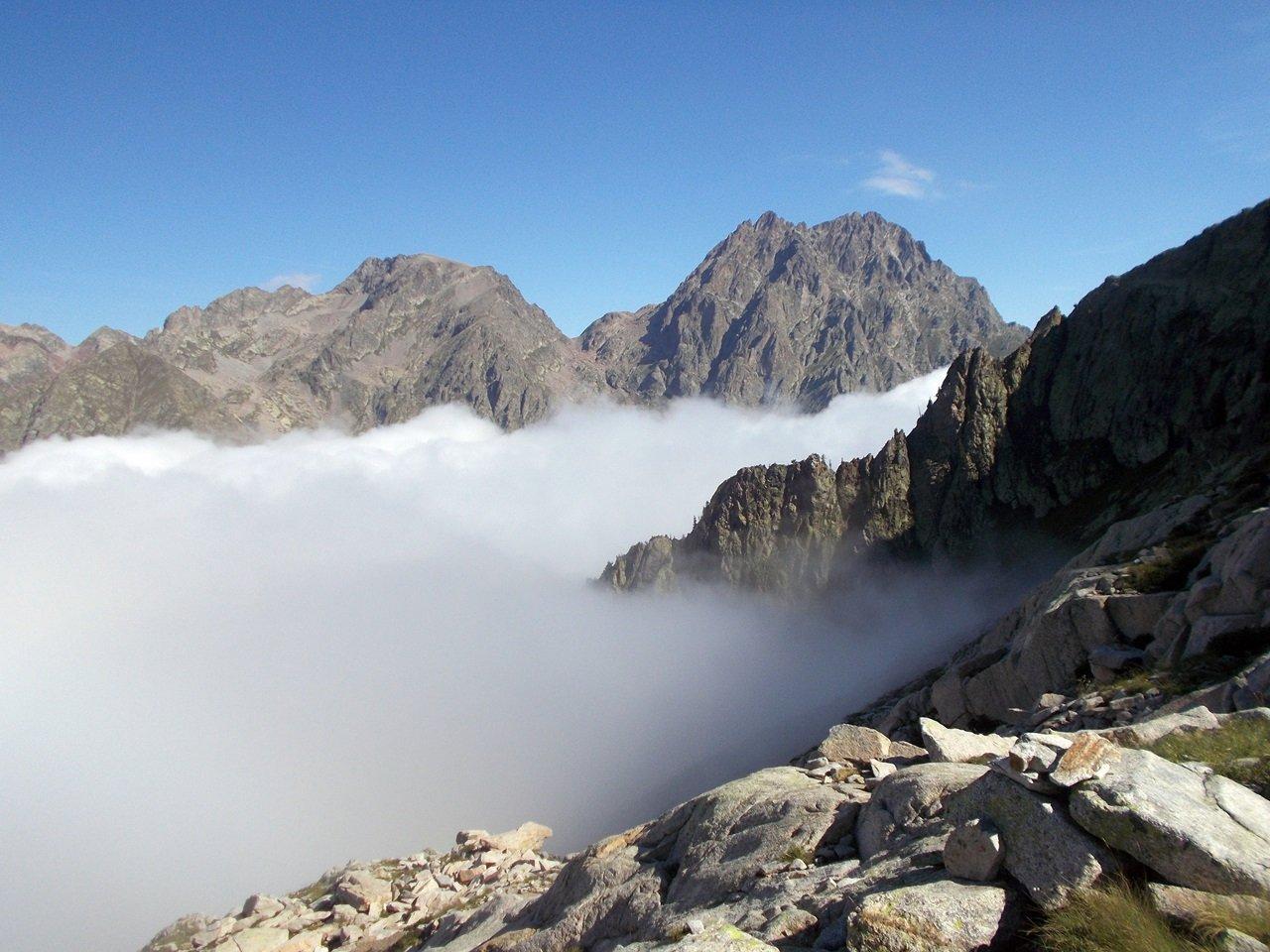 l Monte Matto e la Rocca di Valmiana
