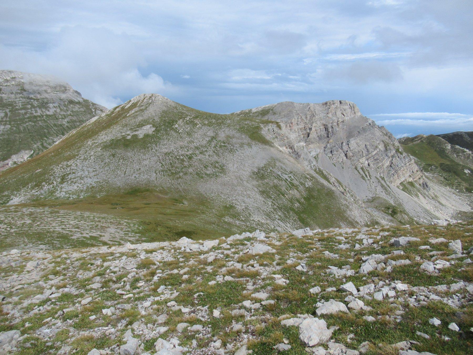 Monte Rotondo e Cima Revelli.