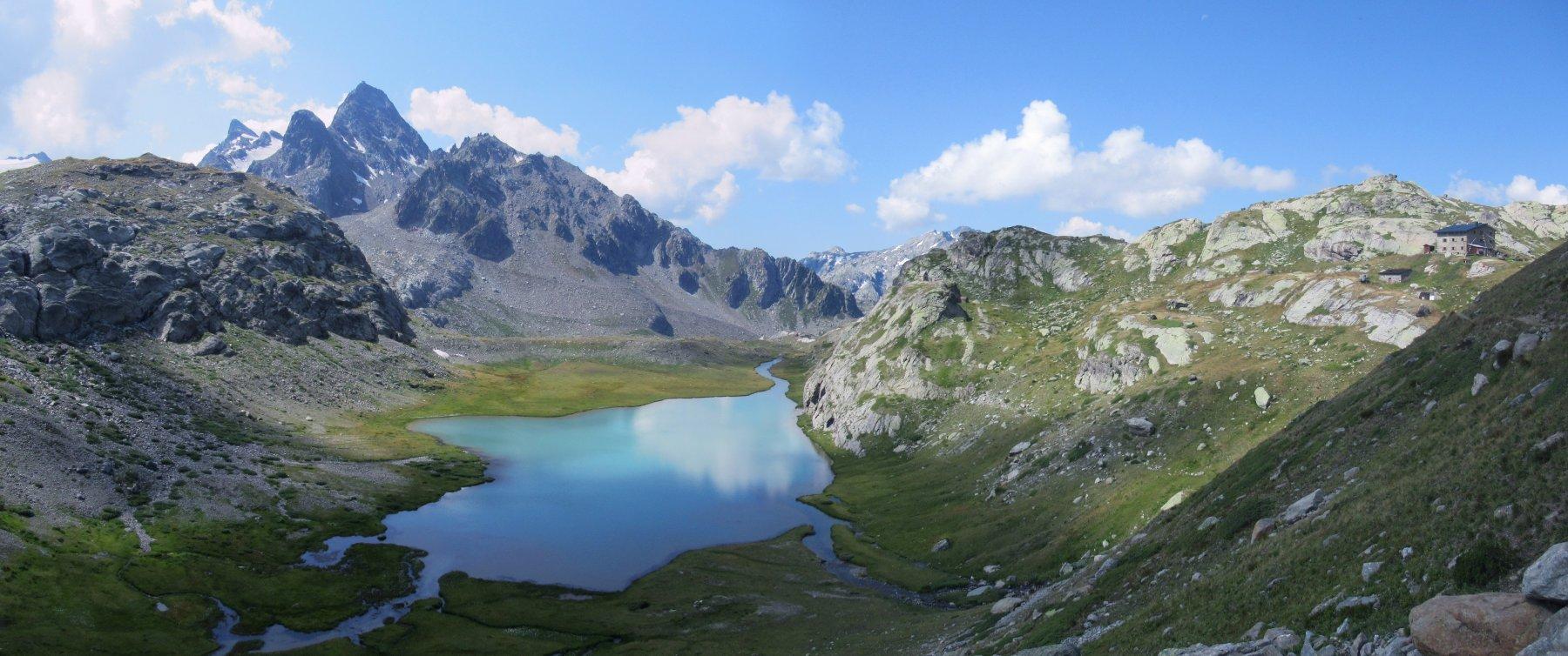Lago Inferiore e Rifugio Deffeyes