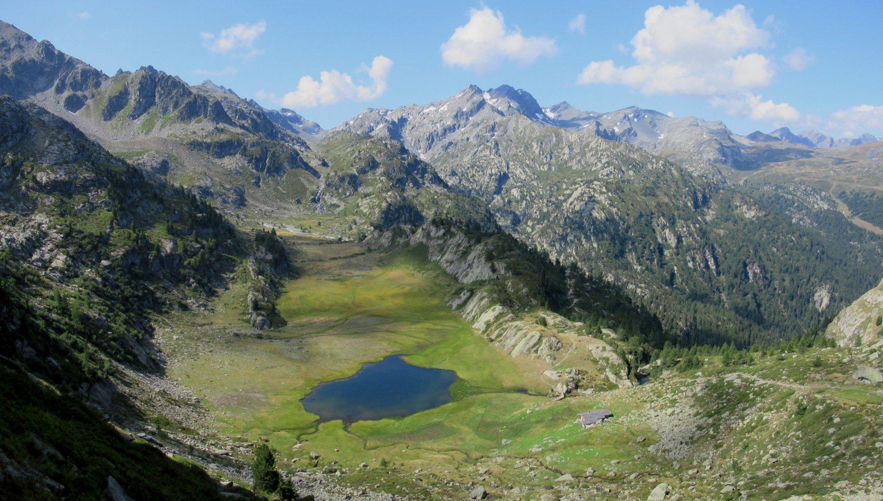 Pianoro de la Lière e lago du Glacier