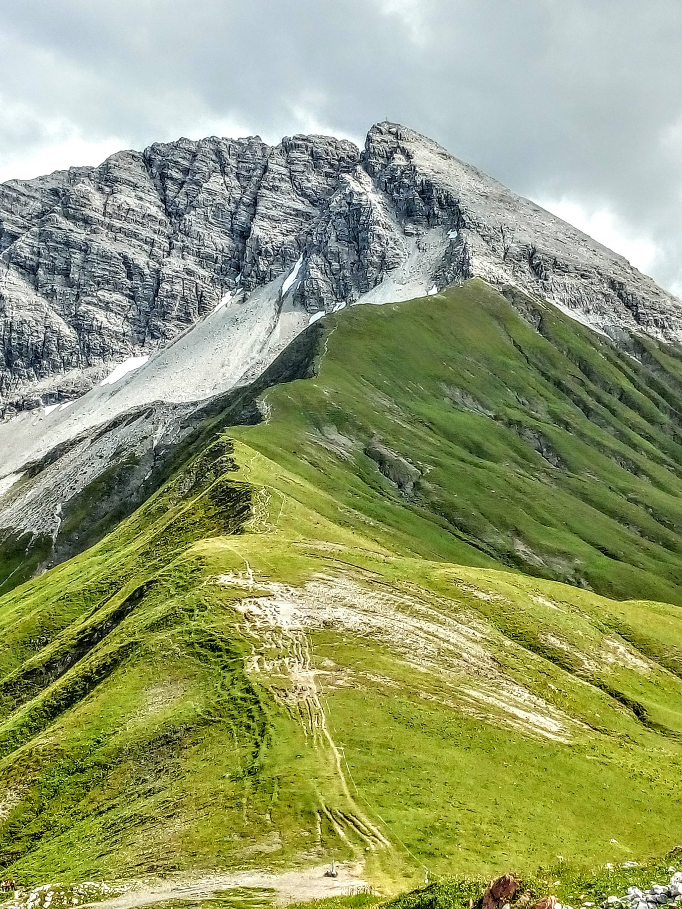 Rufispitze da Lech al parco geologico del Rufispitze 2019-08-23