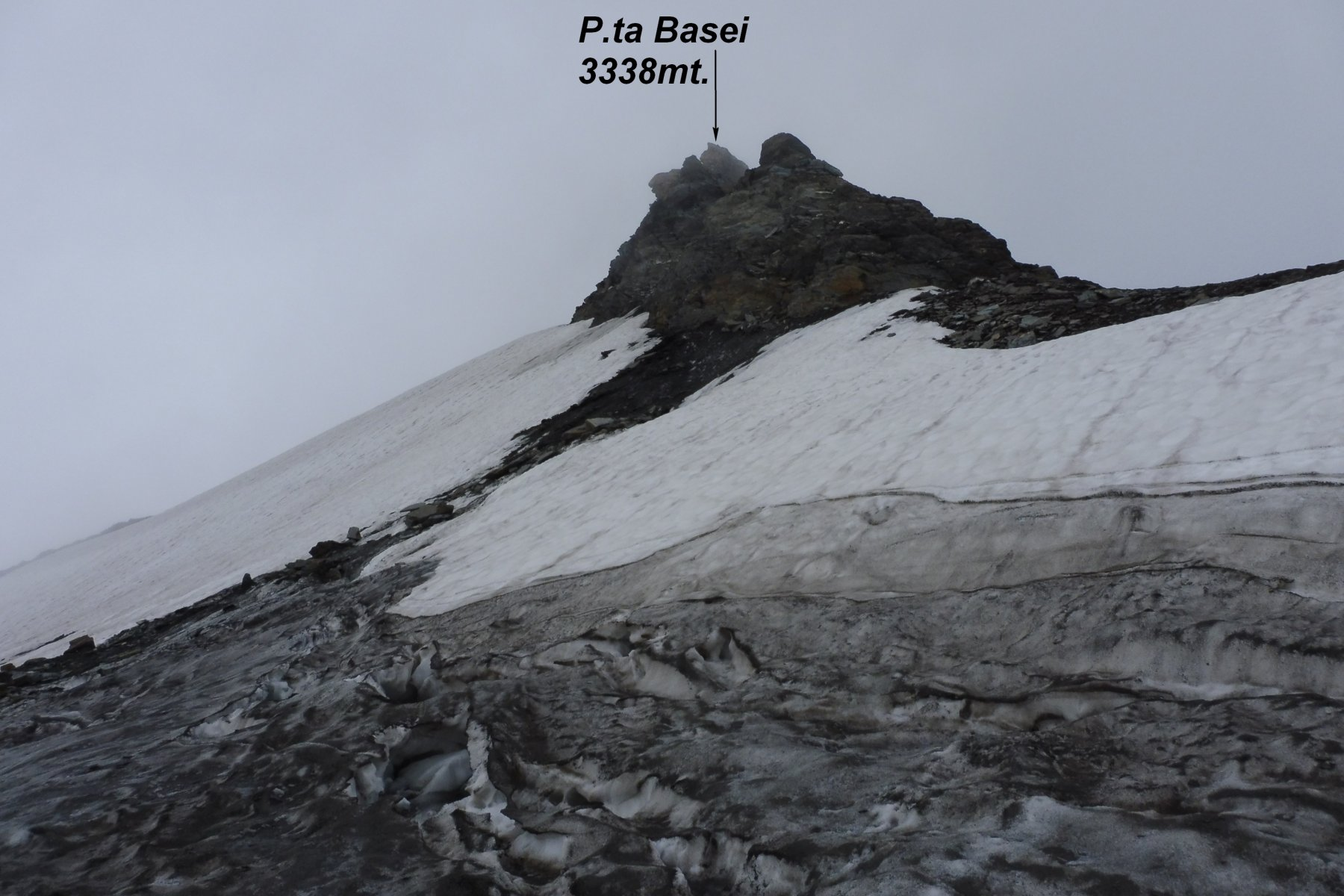 P.ta Basei e ghiacciaio omonimo.