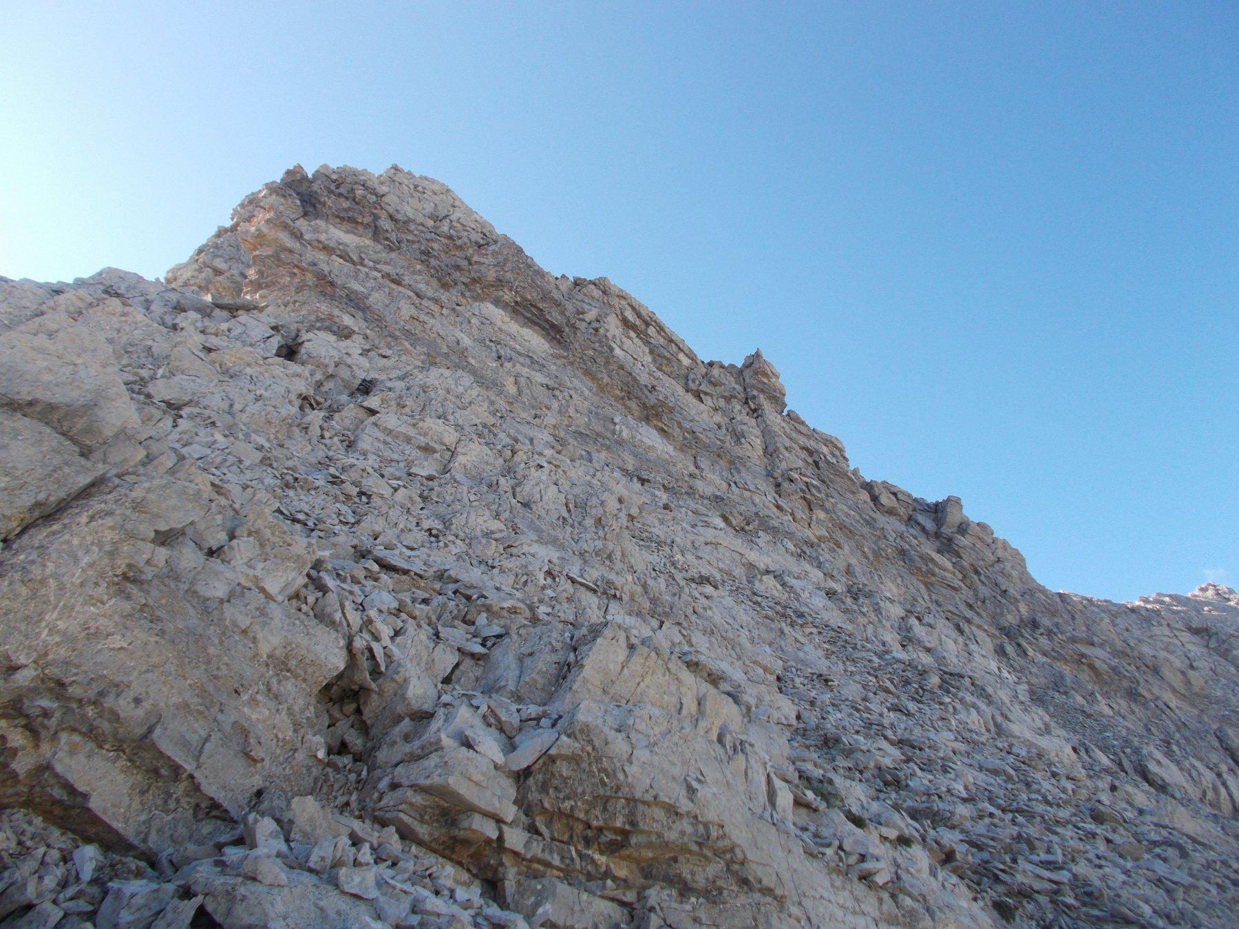 seconda parte della cresta con..
