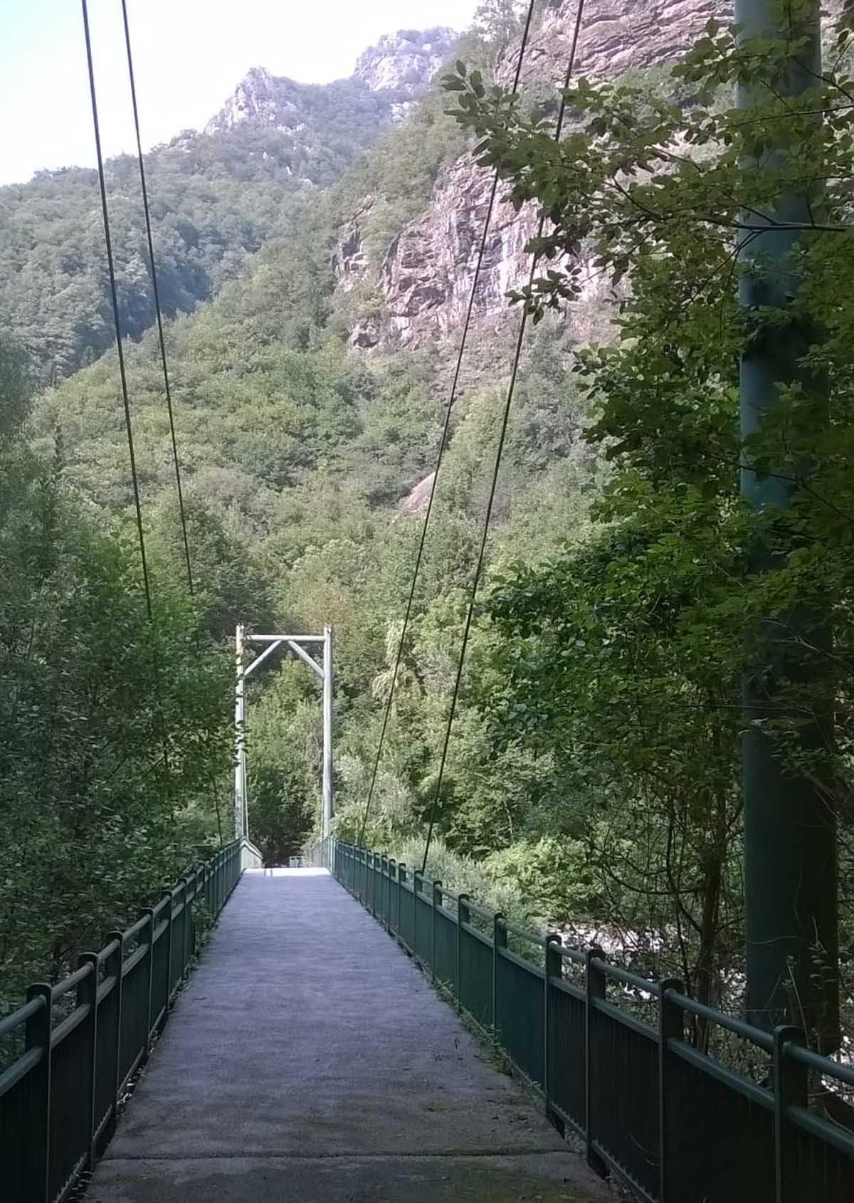 Ponte sul Soana a Cavagnole