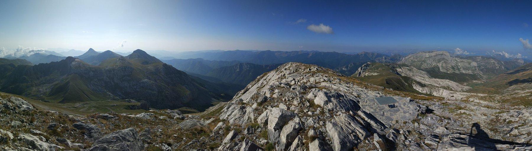 Panoramica verso la Liguria