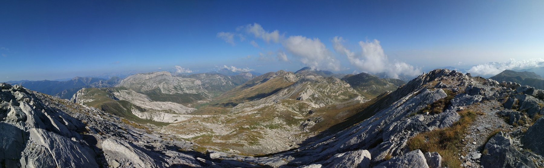 Panoramica verso il Piemonte