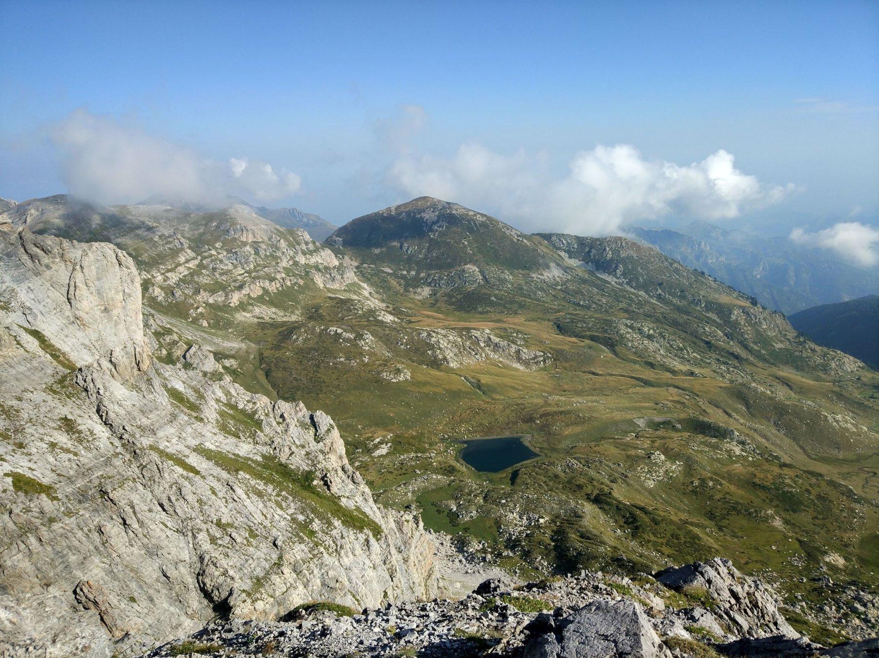 Lago Raschera e alta valle Corsaglia
