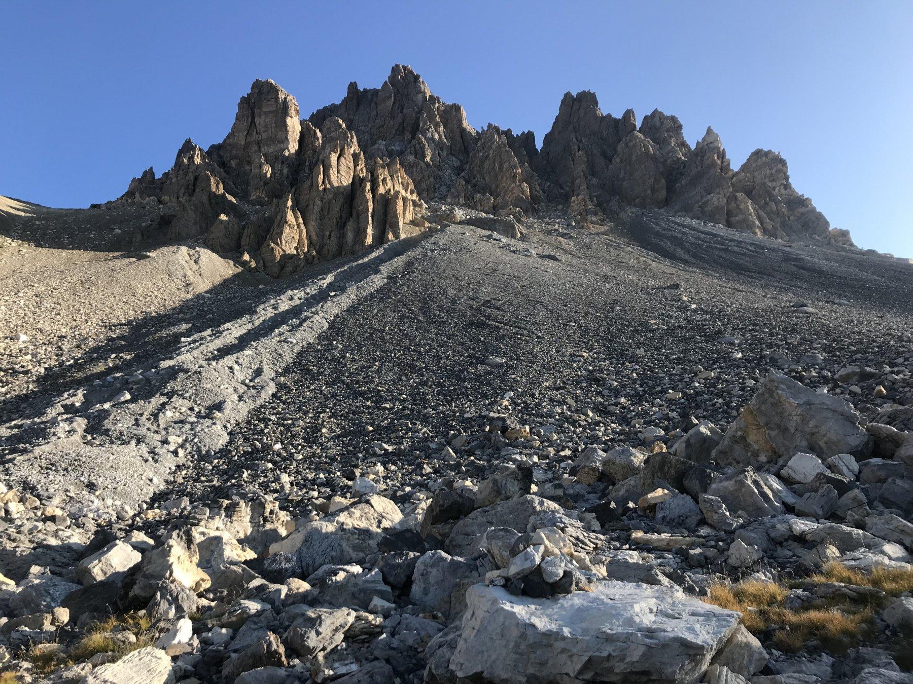 Oronaye (Monte) Via Normale del Canale Sud di Sx (classico) e la Cresta Ovest 2019-08-25