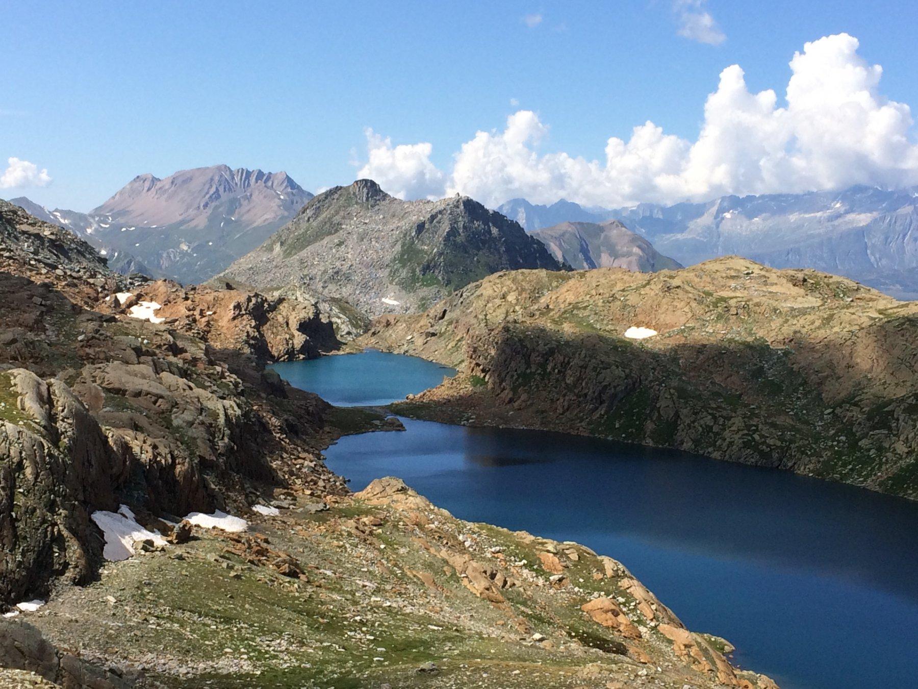 Rossa (Passo della) dall'Alpe Devero, anello per il Passo di Crampiolo 2019-08-25