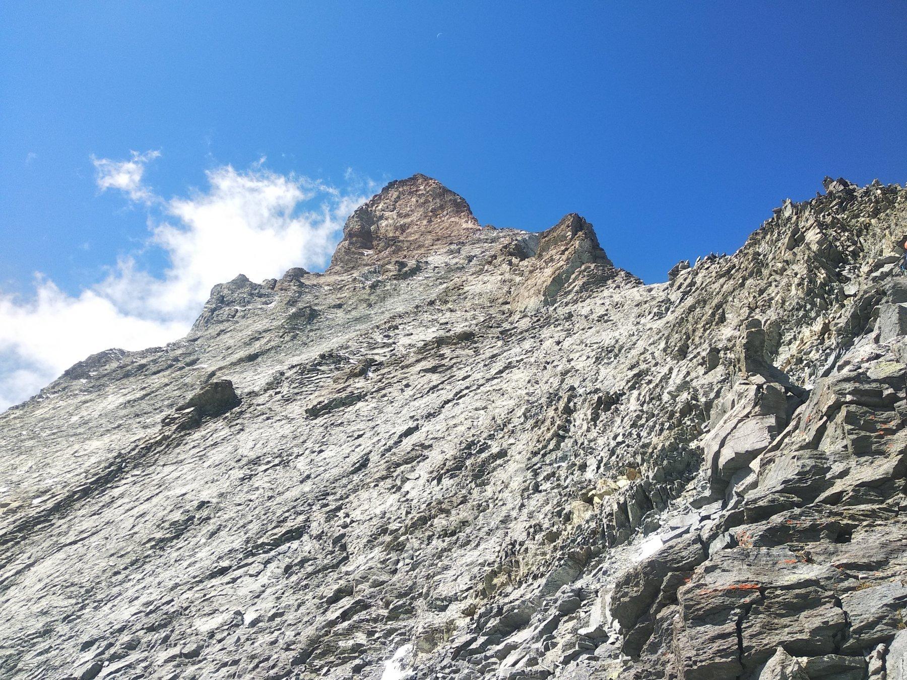 dettaglio parete est e cresta Hornli