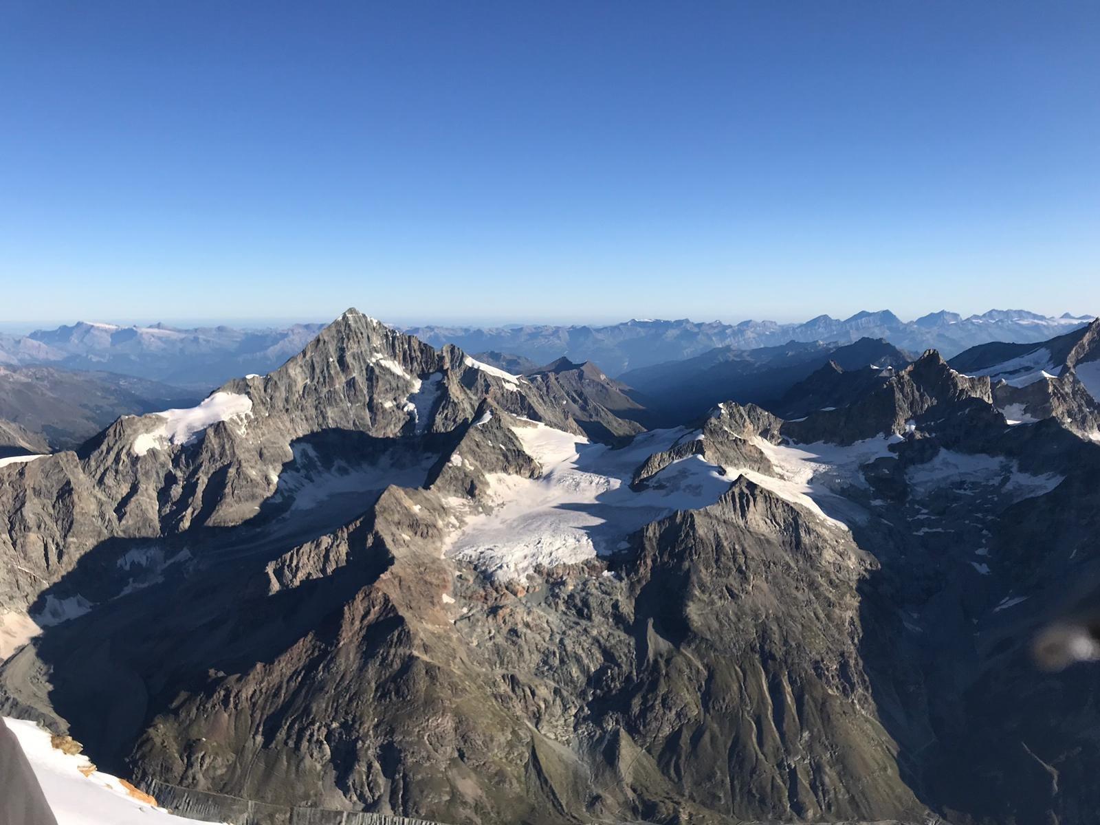 versante svizzero dal Cervino