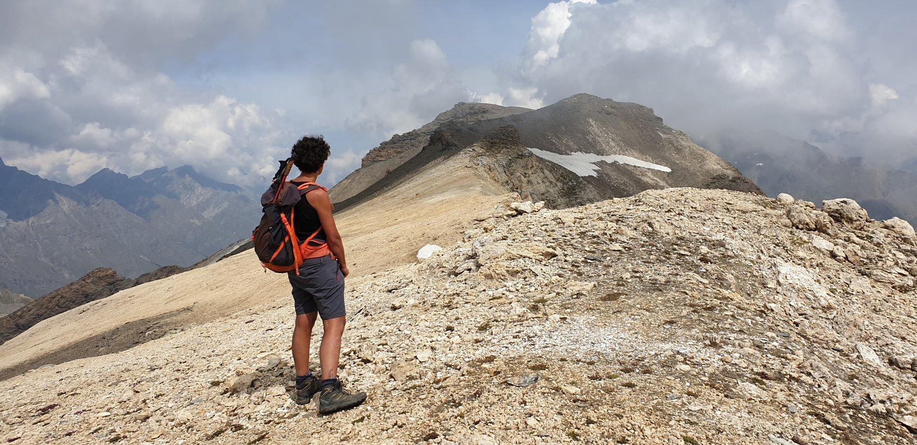 Gran Vaudalaz (Punte Sud e Nord) dai Piani del Nivolet, anello Col Nivoletta - Col Rosset 2019-08-27