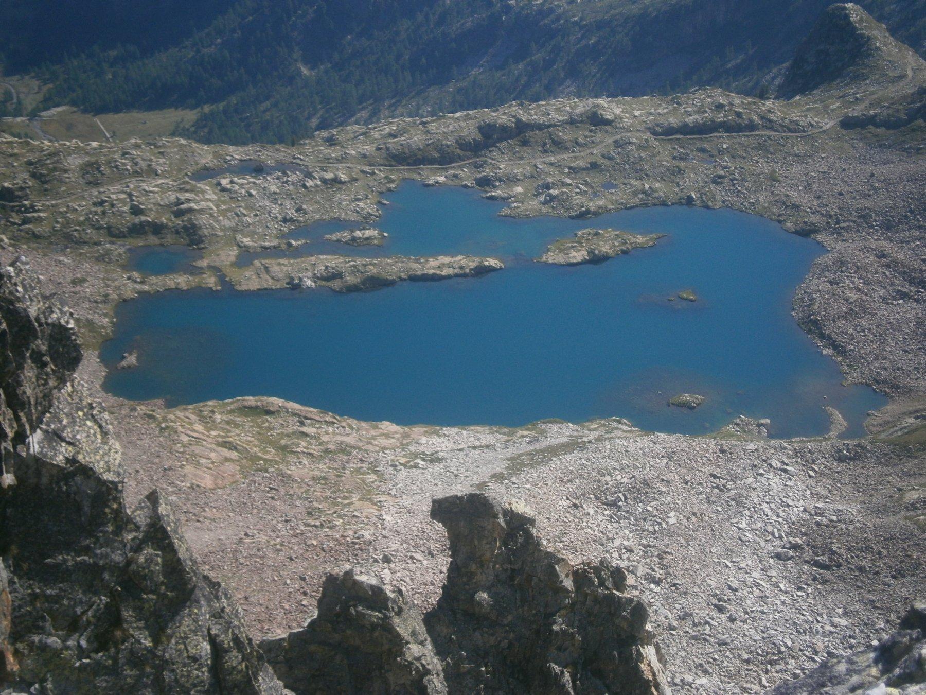 il più bel lago delle Marittime
