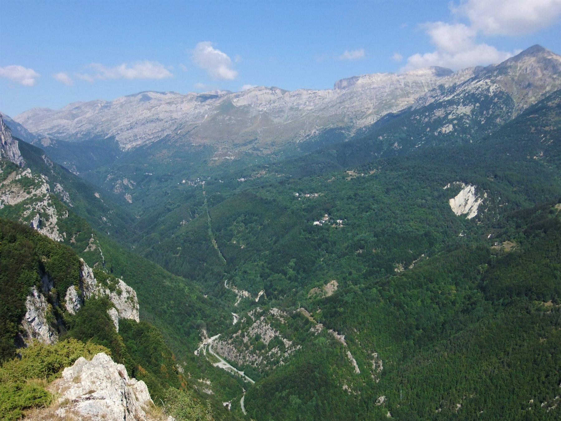 Alta Val Tanaro da propaggini Monte dei Cancelli