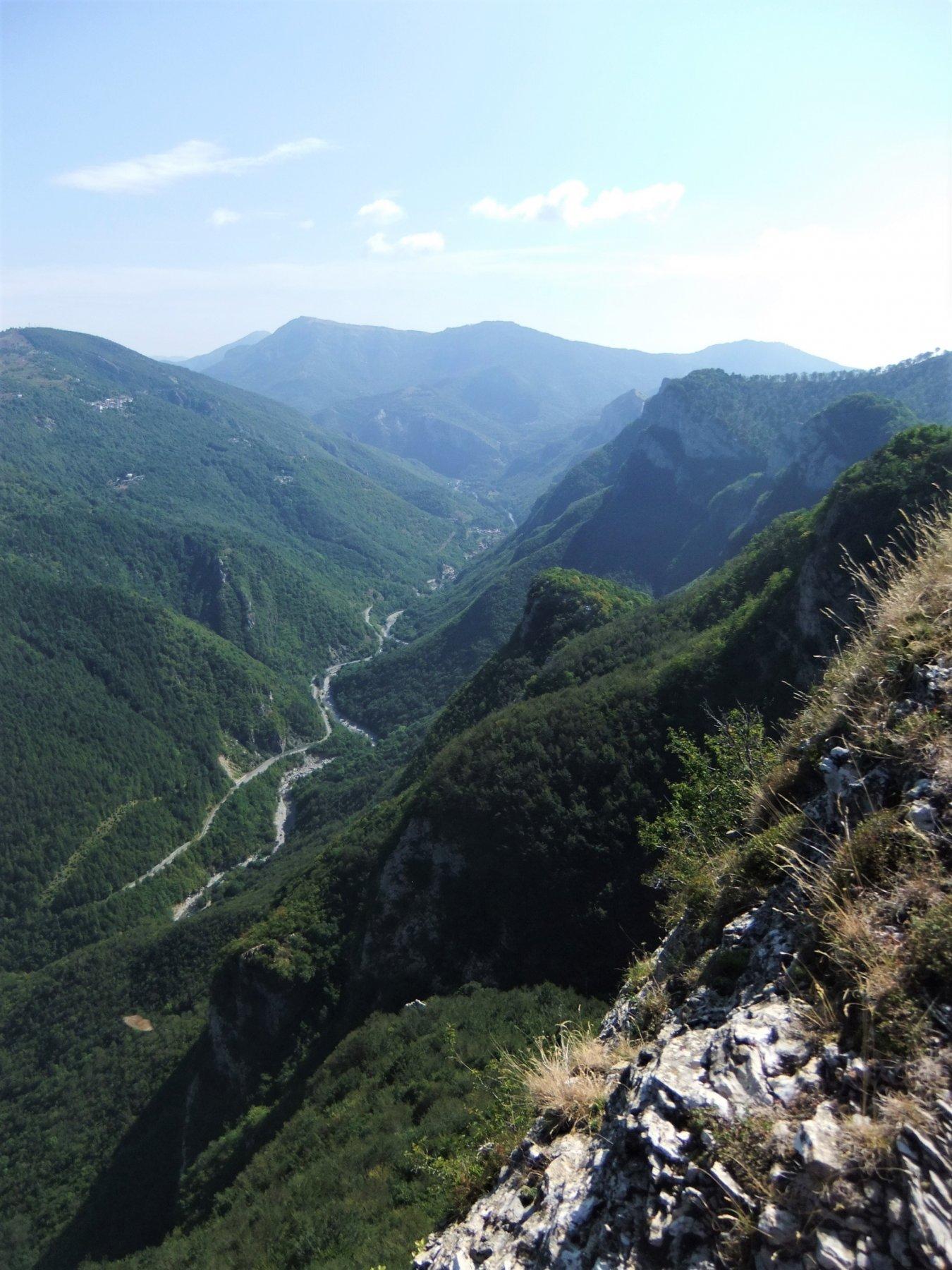 Val Tanaro da propaggini Monte dei Cancelli