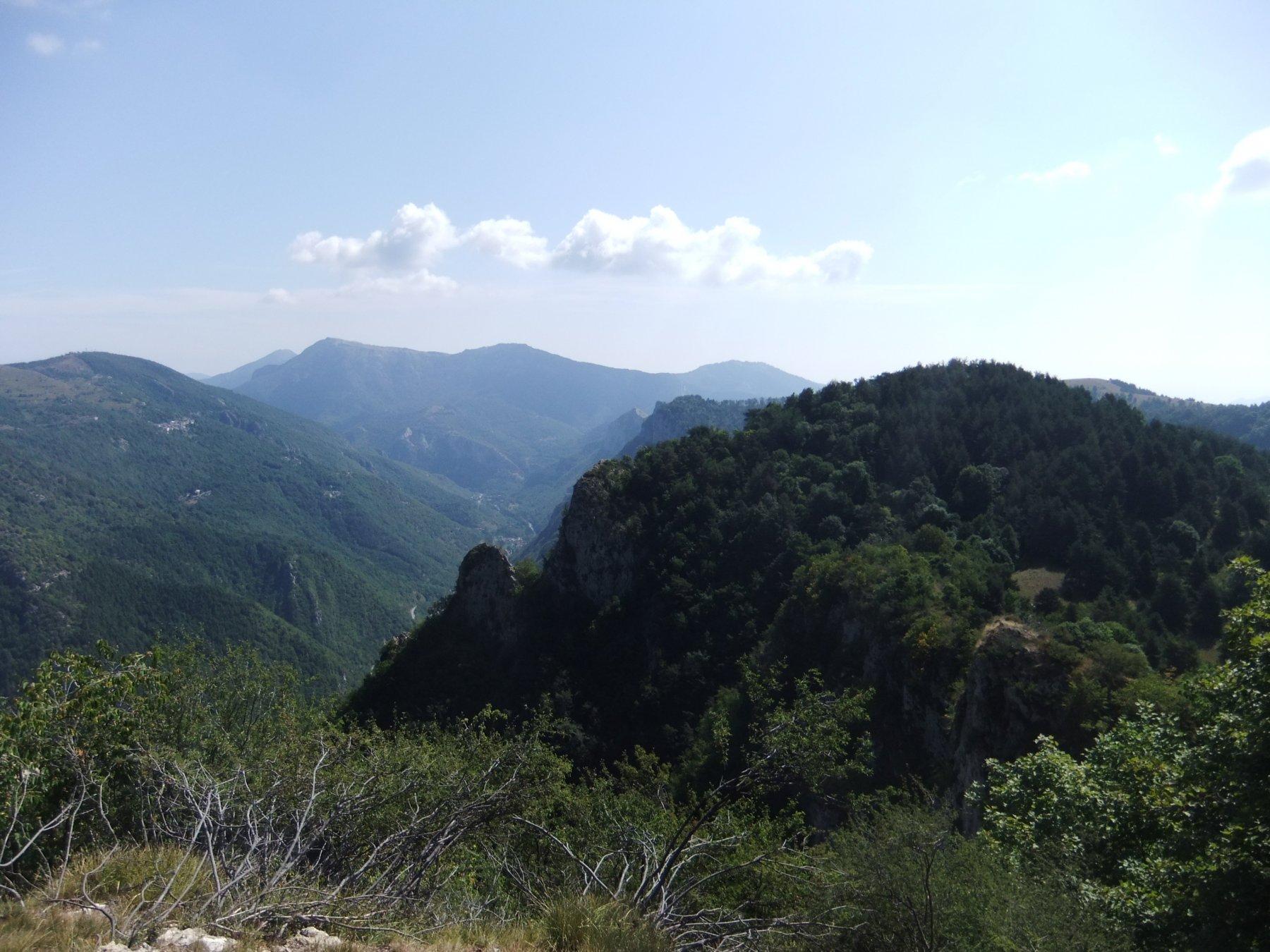 Dalla cima del Bric Cornia