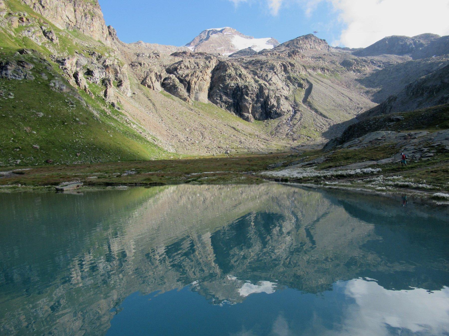 Alta Luce o Hochlicht dal Lago Gabiet per il Colle di Salza 2019-08-30