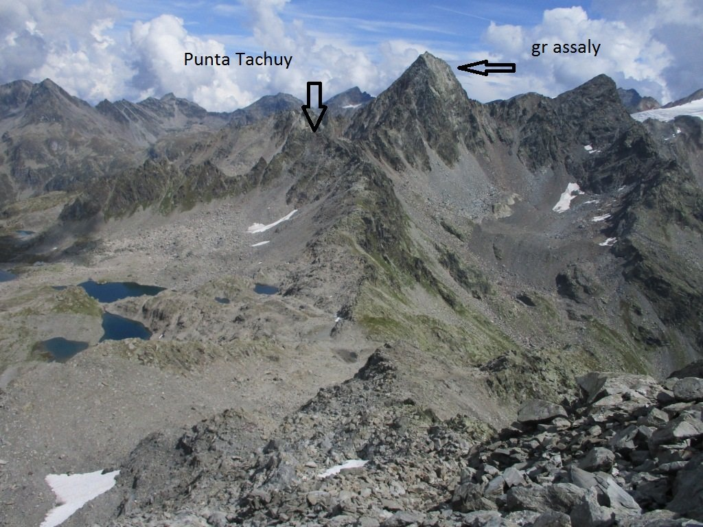 punta Tachuy dal Charve