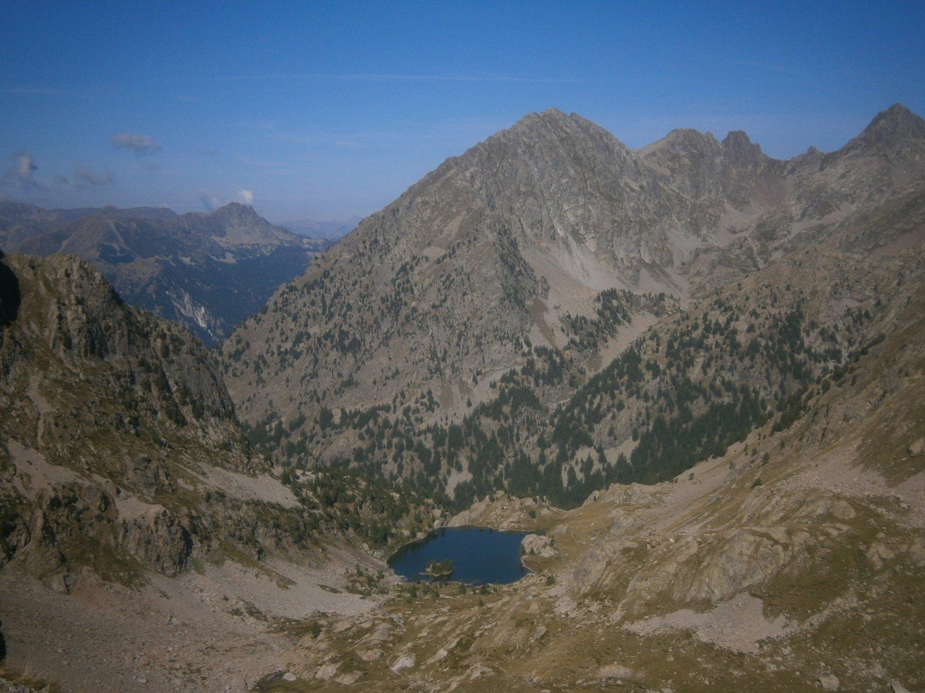 Lago Tres colpas dal pas des Ladres