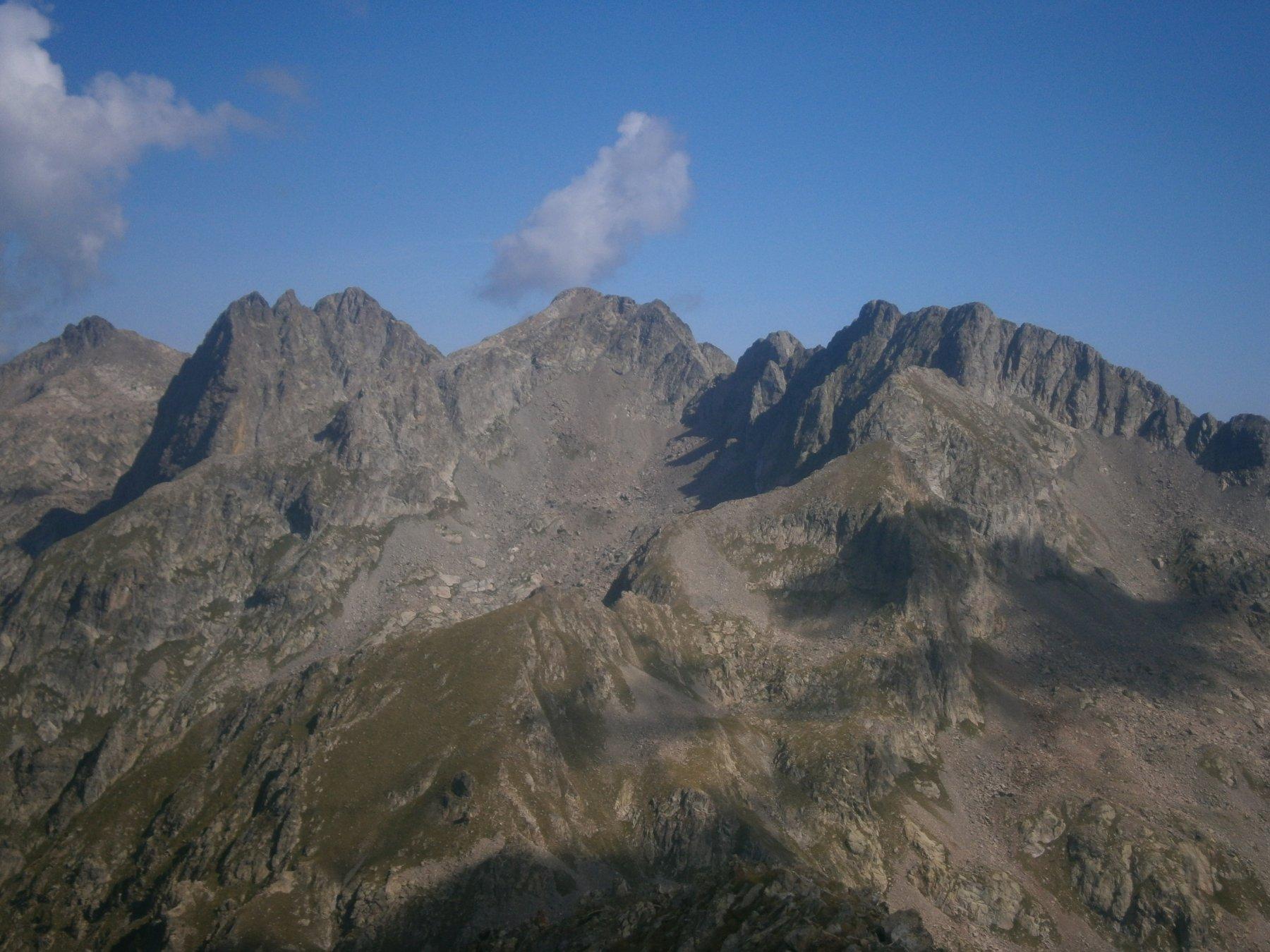 cime Cougurda, Gaisses e Lombard