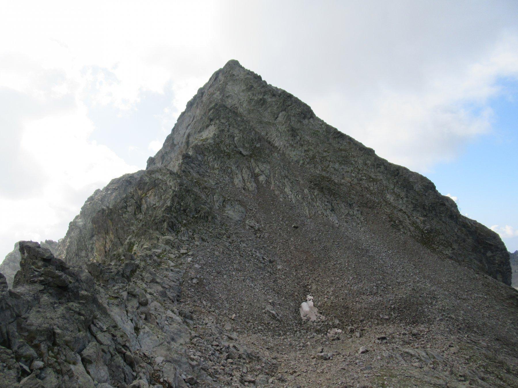 Monte Chamineyes e la cresta nord.