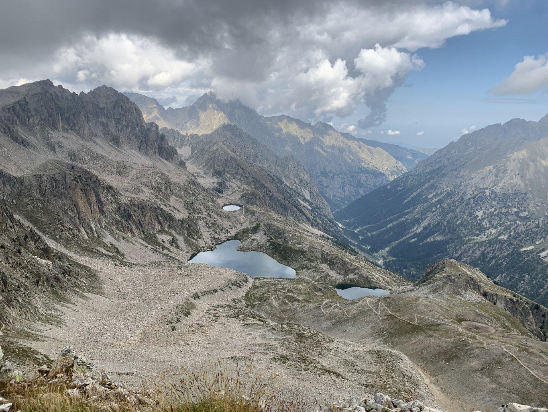 panoramica del percorso