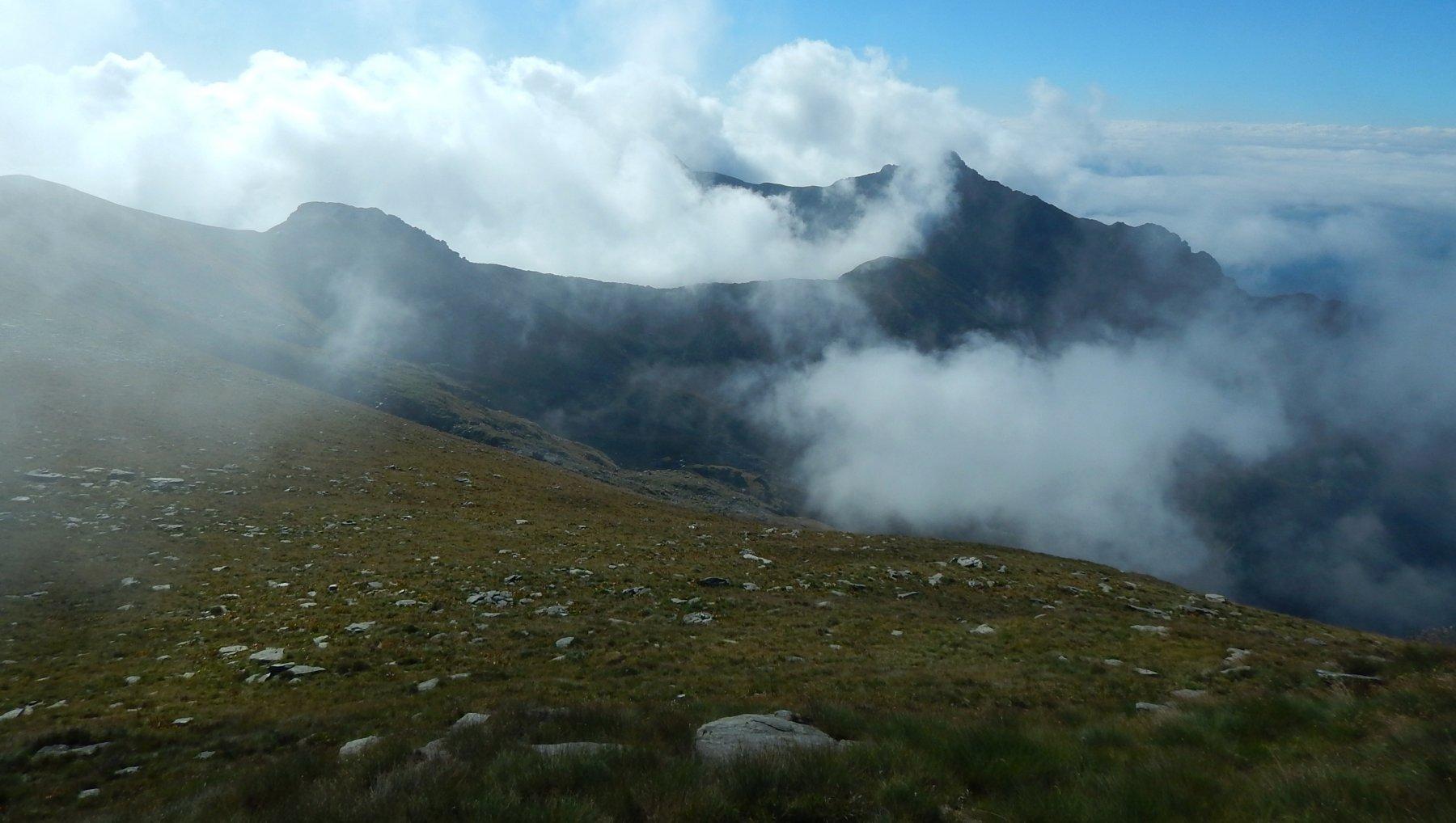 In direzione Rocca Maunero
