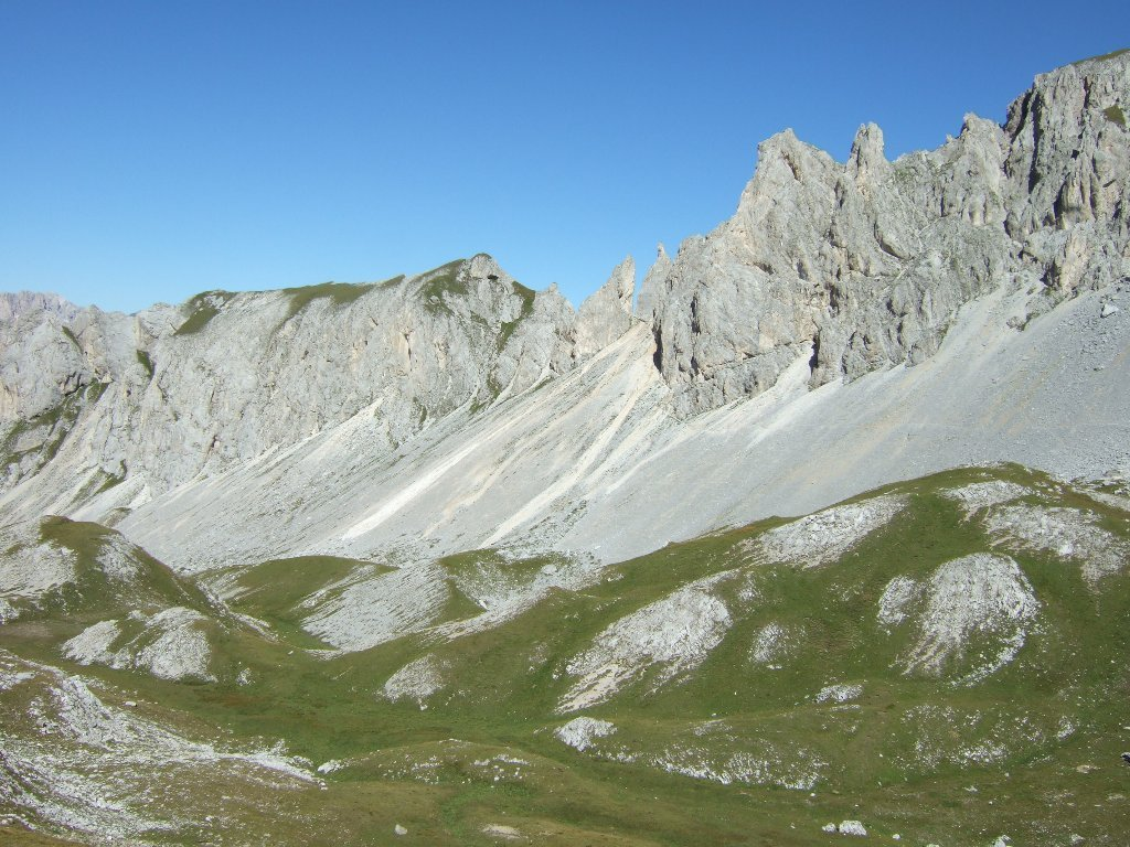 verso forcella dell'Ort