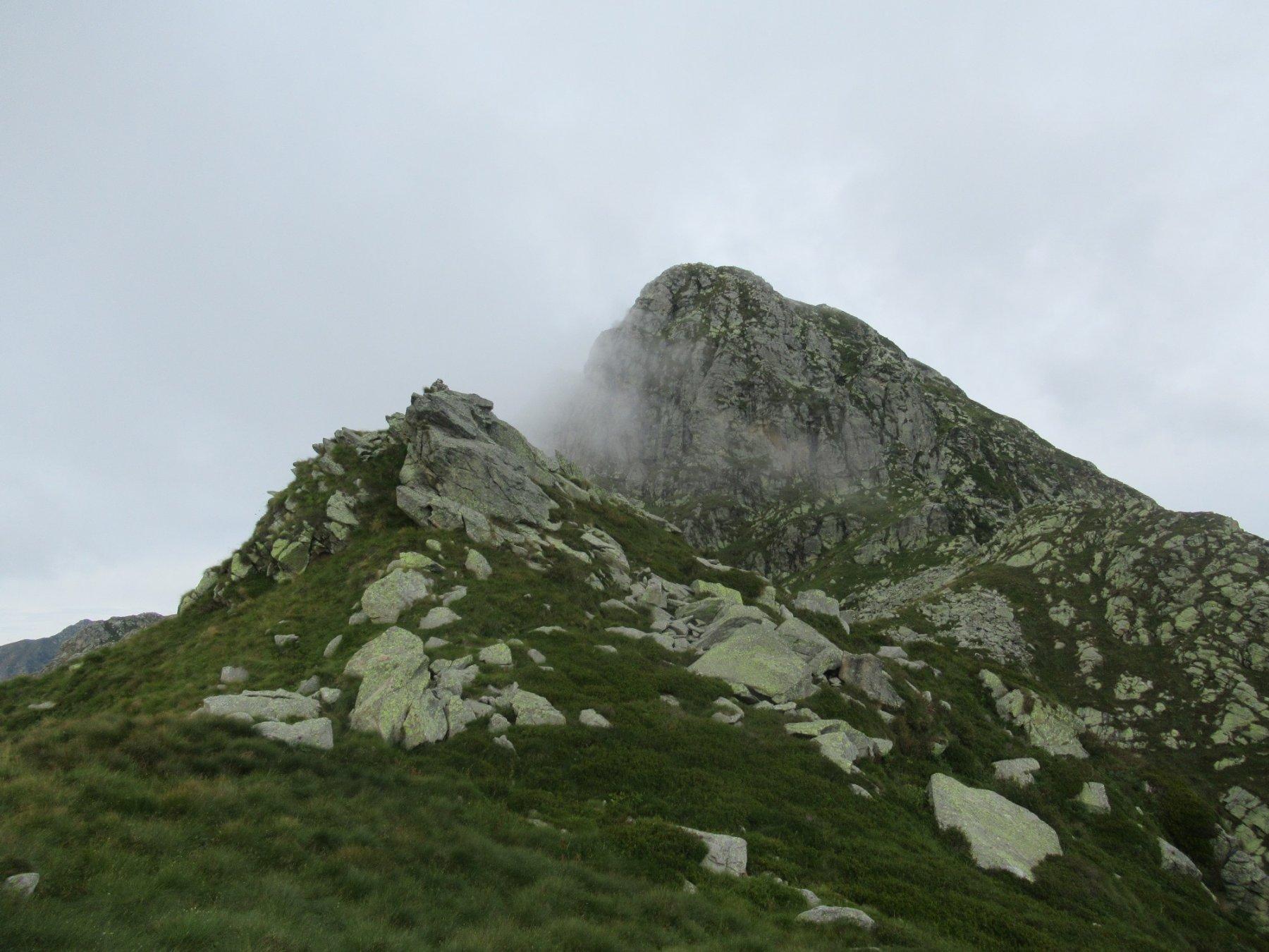 Nebbia sul Mucrone