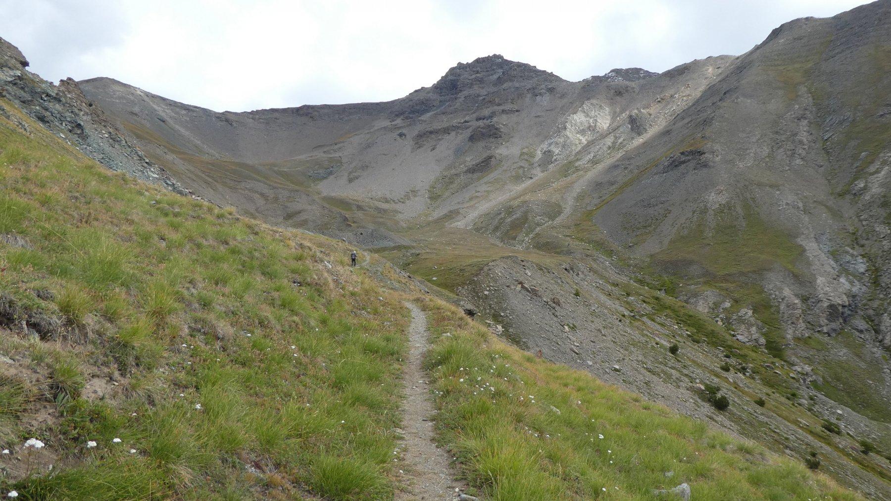 salendo verso l'Alpeggio di Liconi